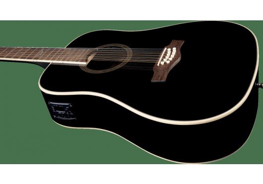 EKO Guitares acoustiques NXT-D100CWE-BLK12