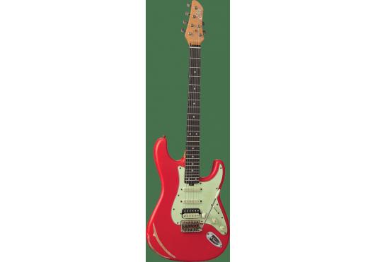 EKO Guitares Electriques AIRE-RELIC-RED