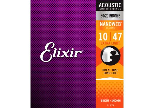 Elixir CORDES ACOUSTIQUES 11002