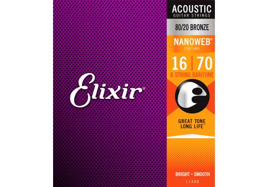 Elixir CORDES ACOUSTIQUES 11308