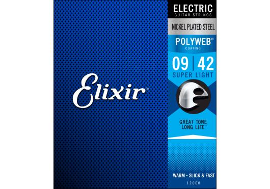 ELIXIR Cordes Electriques 12000