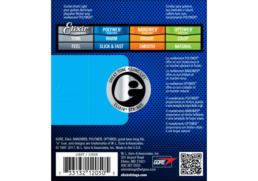 ELIXIR Cordes Electriques 12050