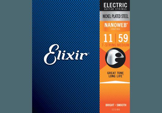ELIXIR Cordes Electriques 12106