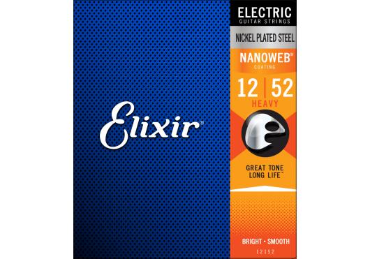 ELIXIR Cordes Electriques 12152