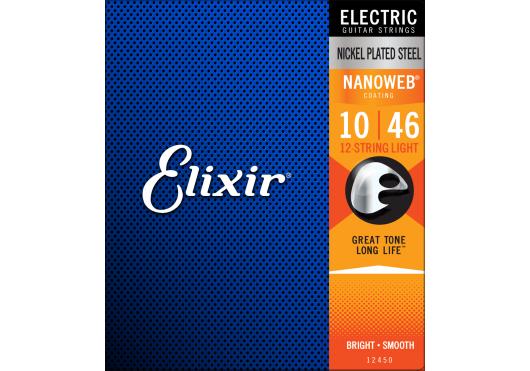ELIXIR Cordes Electriques 12450