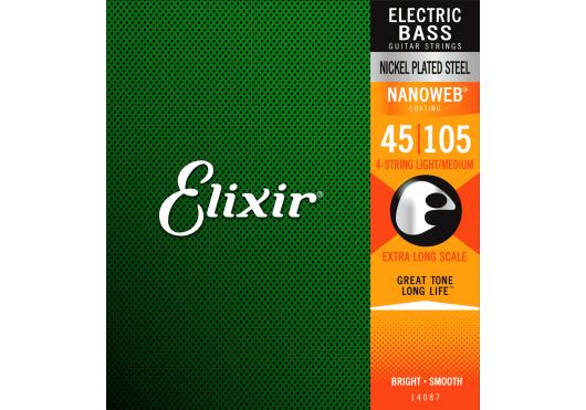 ELIXIR CORDES BASSES ELECTRIQUES 14087