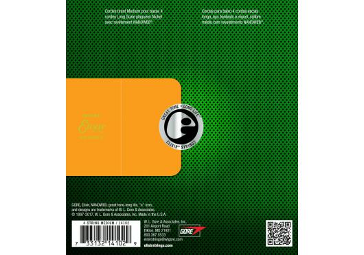 Elixir CORDES BASSES ELECTRIQUES 14102