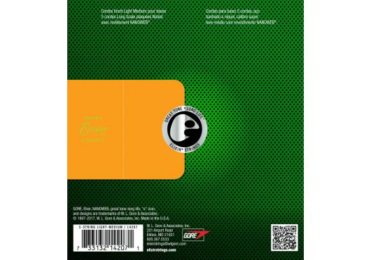 Elixir CORDES BASSES ELECTRIQUES 14207