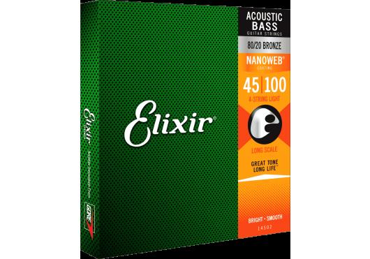 Elixir CORDES BASSES ACOUSTIQUES 14502