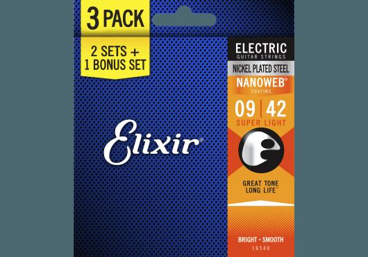 Elixir Cordes Electriques 16540