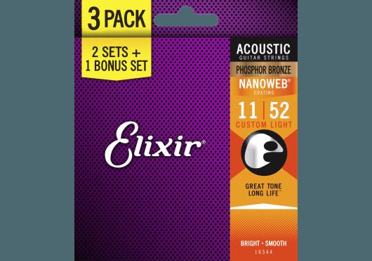 Elixir CORDES ACOUSTIQUES 16544