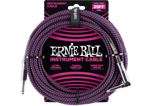ERNIE BALL Câbles Instrument 6068