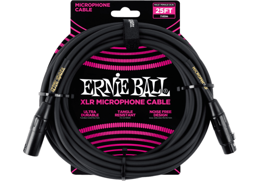ERNIE BALL CABLES MICROPHONE 6073