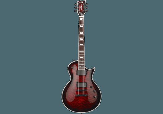 ESP Guitares Electriques 2EC2QM-SCSB