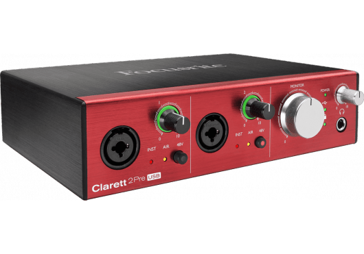 Focusrite Interfaces Audio CLARETT-2PRE-C