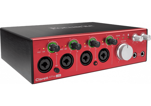 Focusrite Interfaces Audio CLARETT-4PRE-C