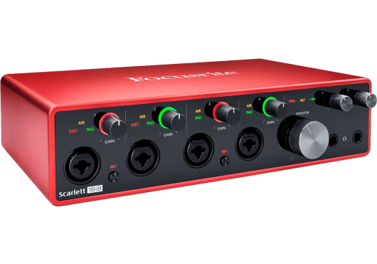 Focusrite Interfaces Audio SCARLETT3-18I8