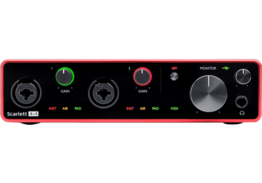 Focusrite Interfaces Audio SCARLETT3-4I4