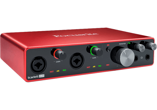 Focusrite Interfaces Audio SCARLETT3-8I6