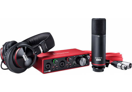 Focusrite Interfaces Audio SCARLETT3-STUDIO