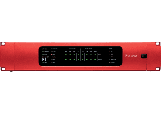 Focusrite AUDIO SUR IP REDNET-3
