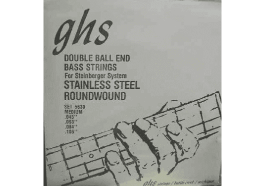 GHS CORDES BASSES 5630