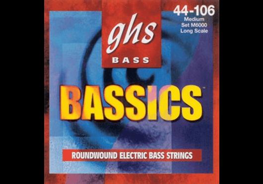 GHS CORDES BASSES 6000L