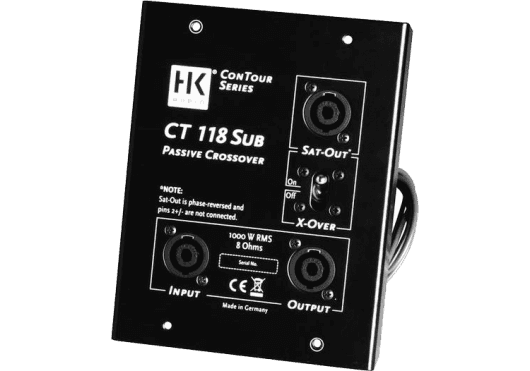 HK Audio ENCEINTES SONO CT118SUB