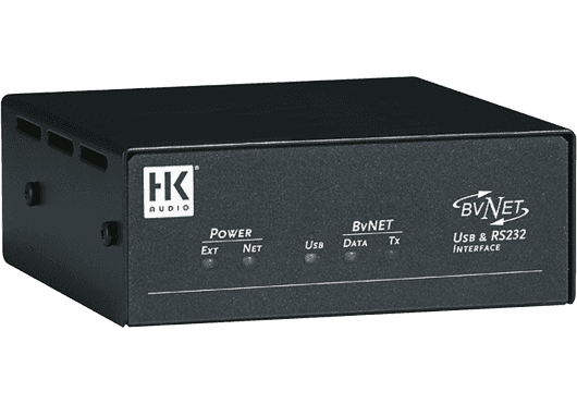 HK Audio GESTION DE SYSTEMES BVNET-USB