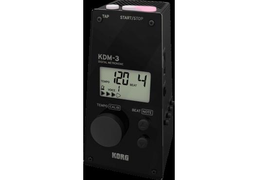Korg Métronomes KDM-3-BK