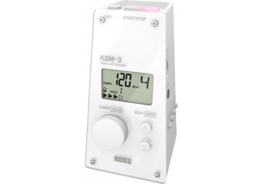 KORG Métronomes KDM-3-WH