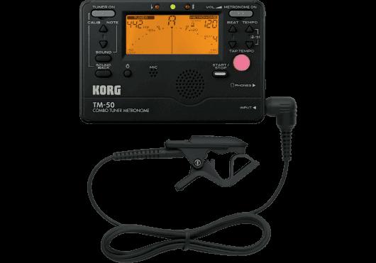 Korg Accordeurs/Métronomes TM50-BK