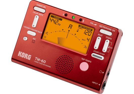 Korg Accordeurs/Métronomes TM60-RD