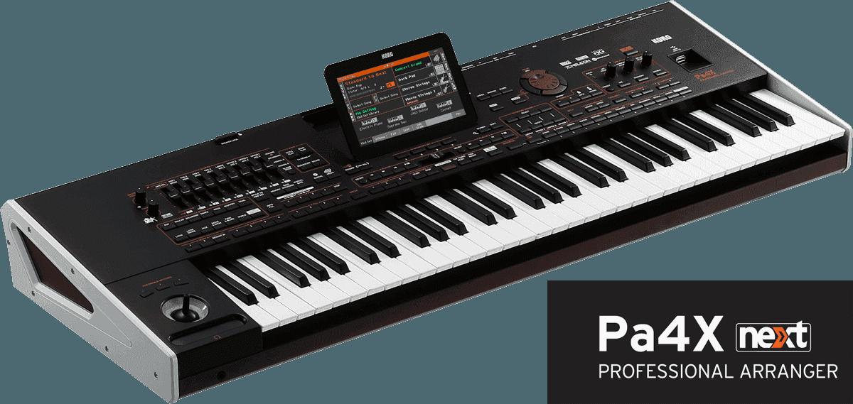 PA4X-61 61 notes, MP3, harmoniseur