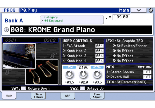 Korg Workstations KROME-73