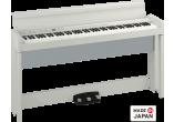 photo 88 notes, Bluetooth, blanc avec stand