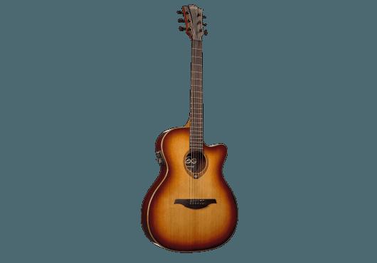 Lâg Guitares Folk T100ASCE-BRS