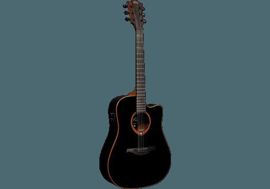 Lâg Guitares Folk T100DCE-BLK