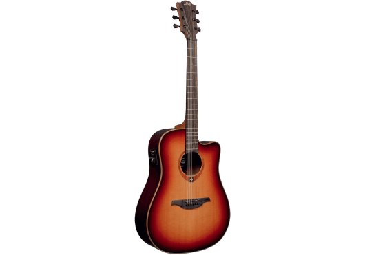 Lâg Guitares Folk T100DCE-BRS