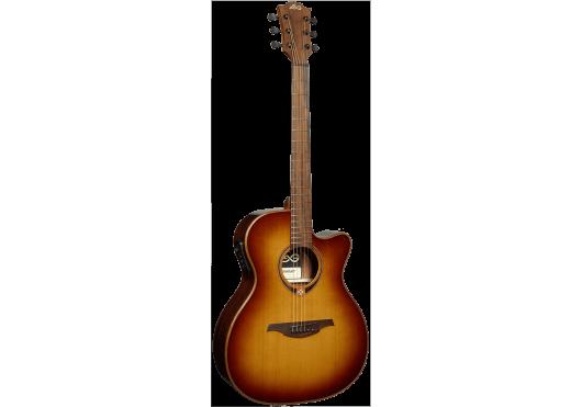 Lâg Guitares Folk T118ACE-BRS
