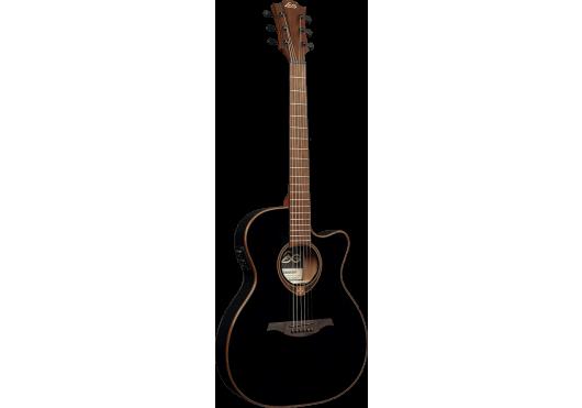 Lâg Guitares Folk T118ASCE-BLK
