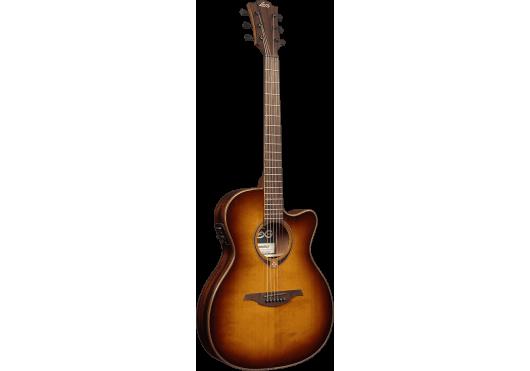Lâg Guitares Folk T118ASCE-BRS