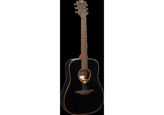 Lâg Guitares Folk T118D-BLK