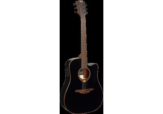 Lâg Guitares Folk T118DCE-BLK