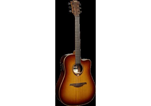 Lâg Guitares Folk T118DCE-BRS