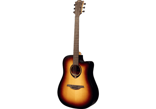 Lâg Guitares Folk T70DCE-BRB