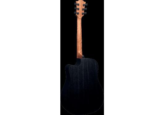 Lâg Guitares Folk T70DCE-BRB - Vue de dos