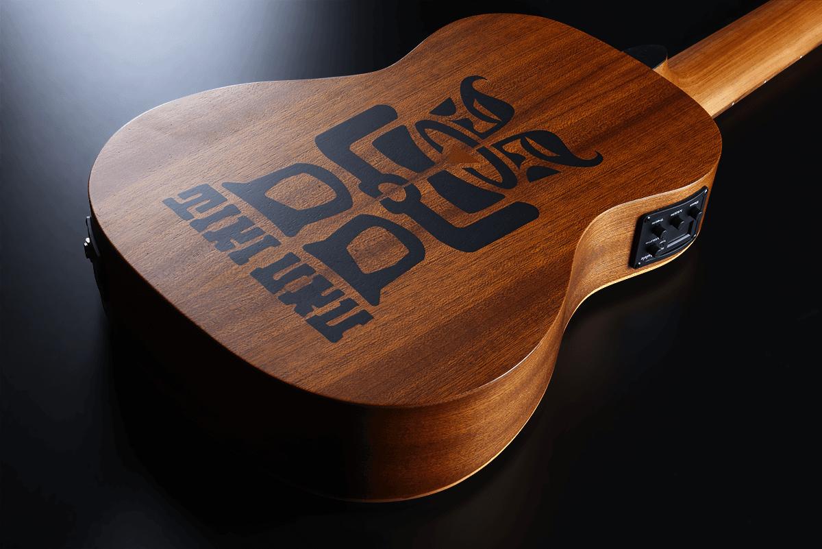 Lâg Mini guitar TKT150E (5)