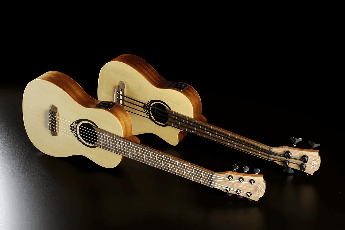Lâg Mini guitar TKT150E (7)