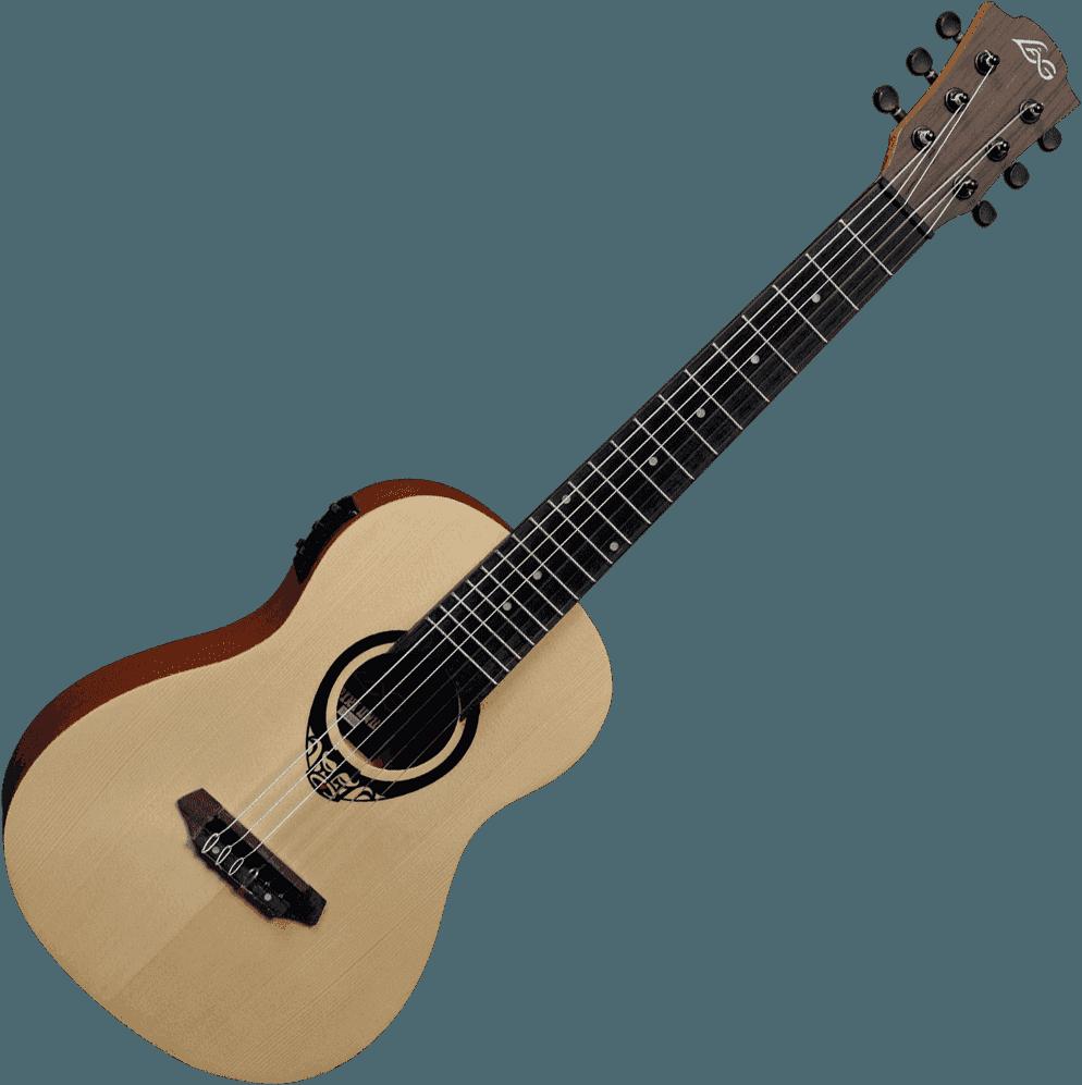 Lâg Mini guitar TKT150E (1)